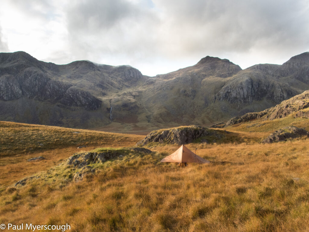 Scar Lathing to Scafell Pike and Scafell with Cam Spout