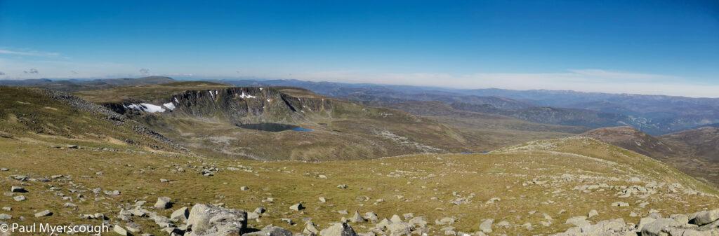 From Lochnagar looking west