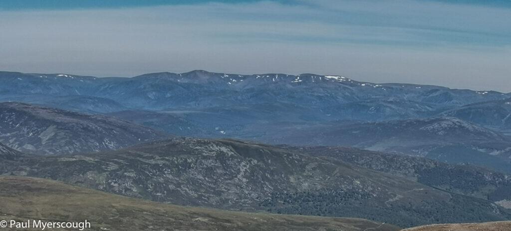 Lochnagar looking East